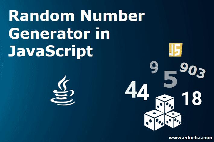 Random Number Generator in JavaScript
