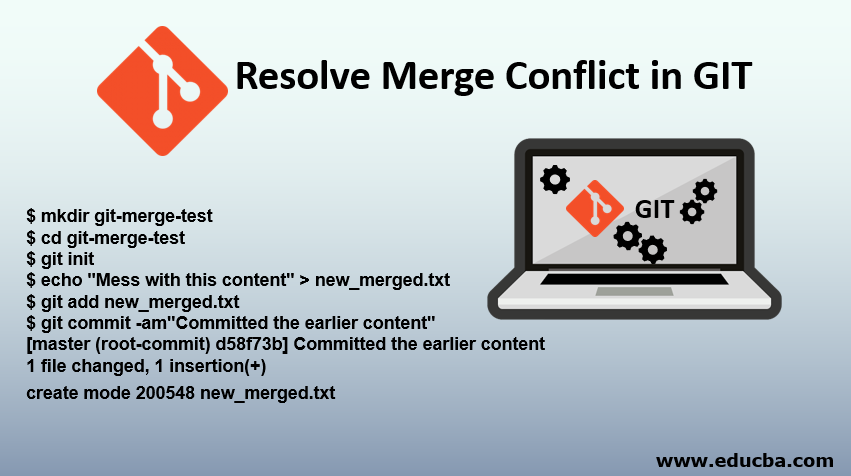 Resolve Merge Conflict in GIT