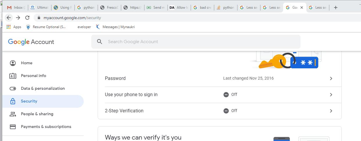Send Mail in Python