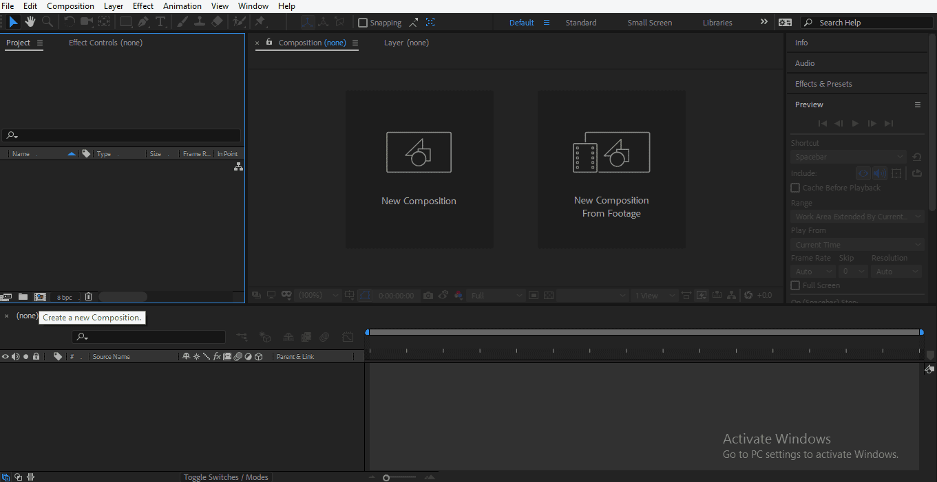 Shape Layer in After Effects 1-3