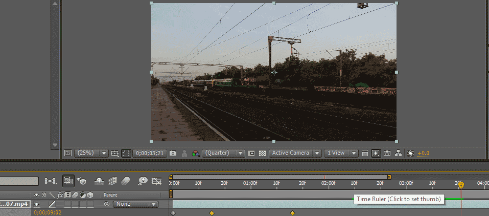 Slow Motion in After Effects 1-12