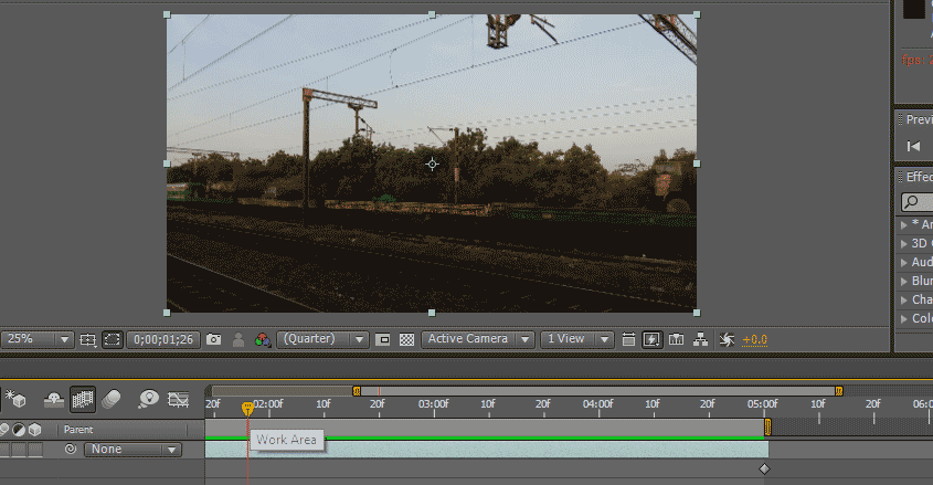 Slow Motion in After Effects 1-18