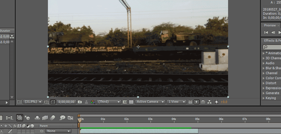 Slow Motion in After Effects 1-3