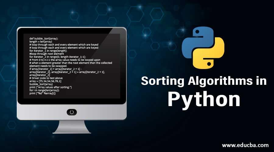 Sorting Algorithms in Python
