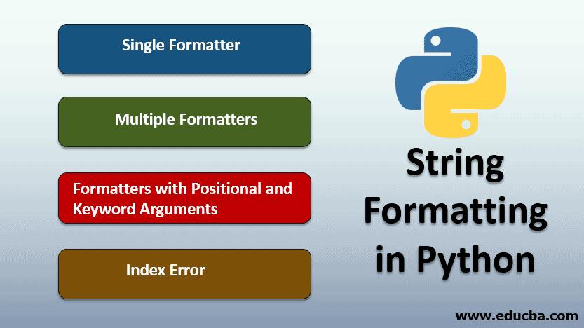 String Formatting in Python