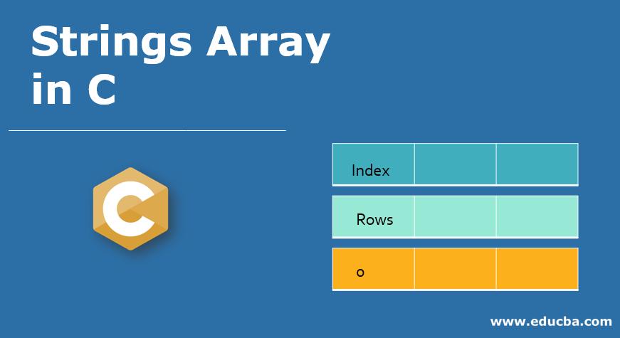 Strings Array in C