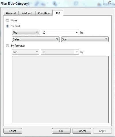 Tableau Context Filter-1.7