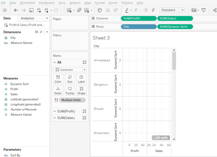 Tableau Dynamic Parameters 1-14