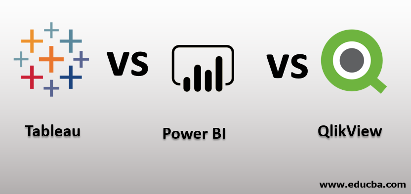 Tableau vs Power BI vs QlikView