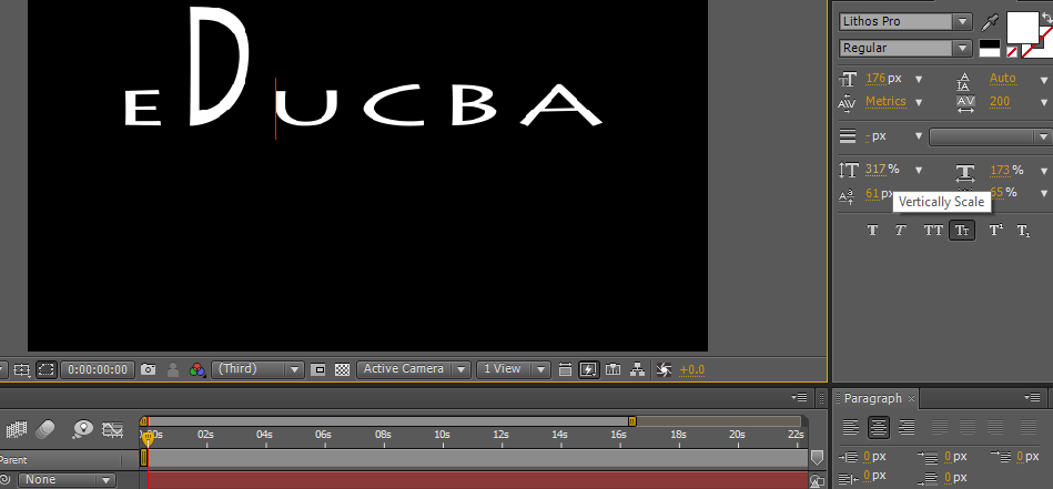 Text in After Effects 1-10