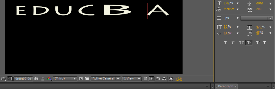 Text in After Effects 1-12