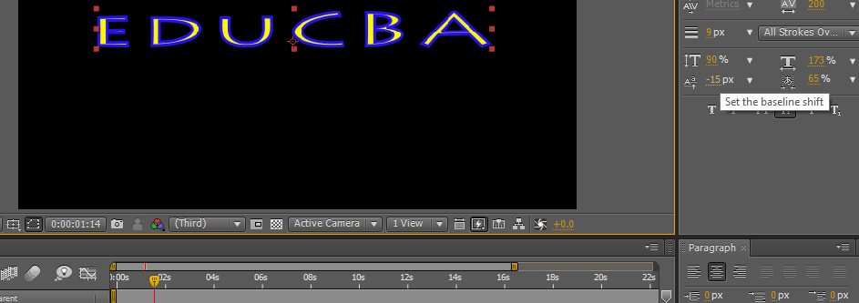 Text in After Effects 1-27