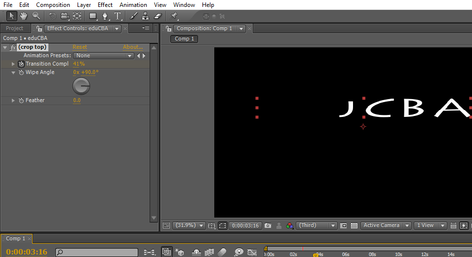 Text in After Effects 1-36