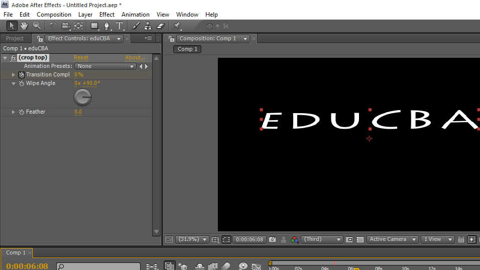 Text in After Effects 1-37