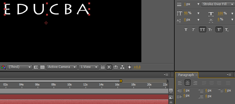 Text in After Effects 1-8