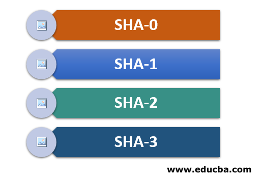 Types of SHA Algorithm
