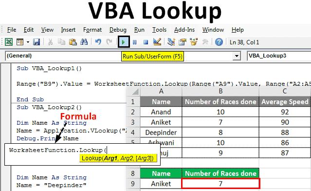 VBA Lookup