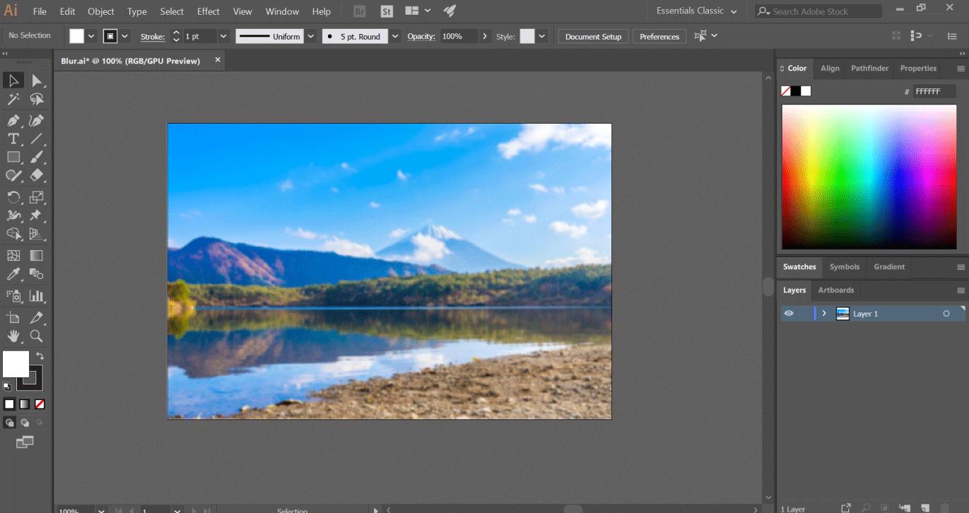 blur image