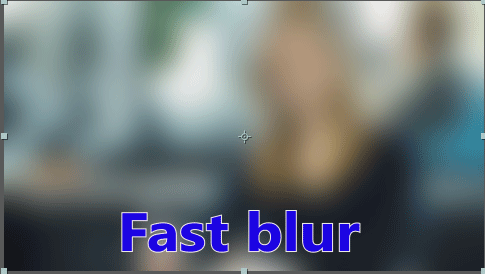 blur in after effects 6