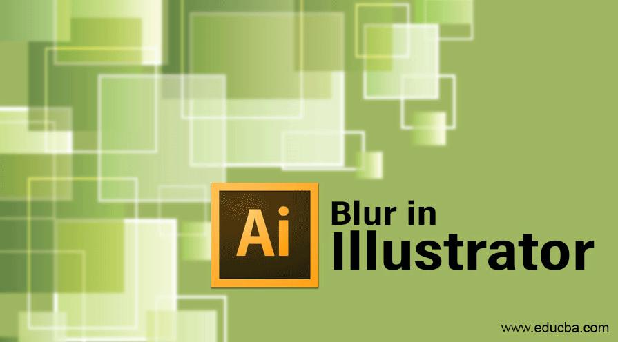 blur in illustrator