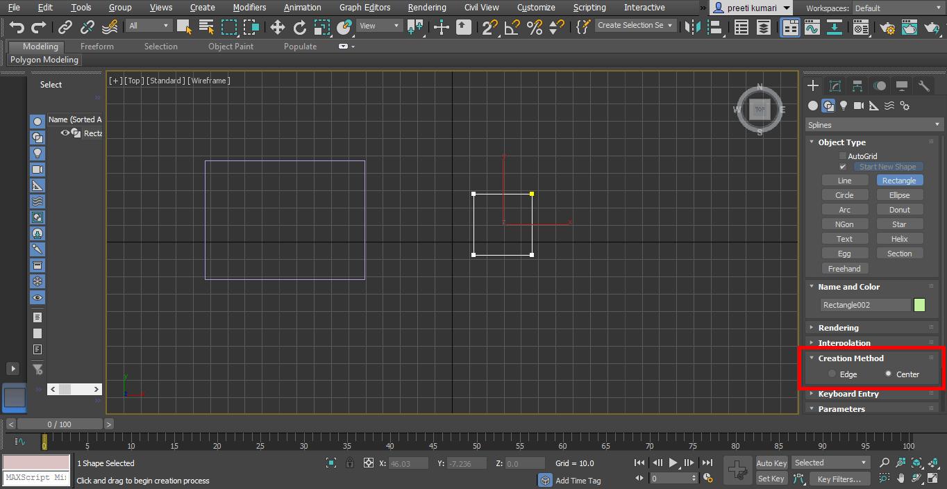 center method