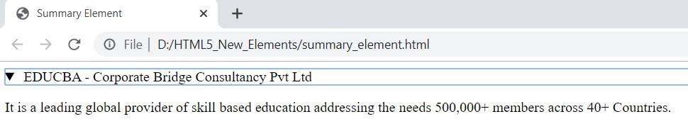 html5 new elements 1-11