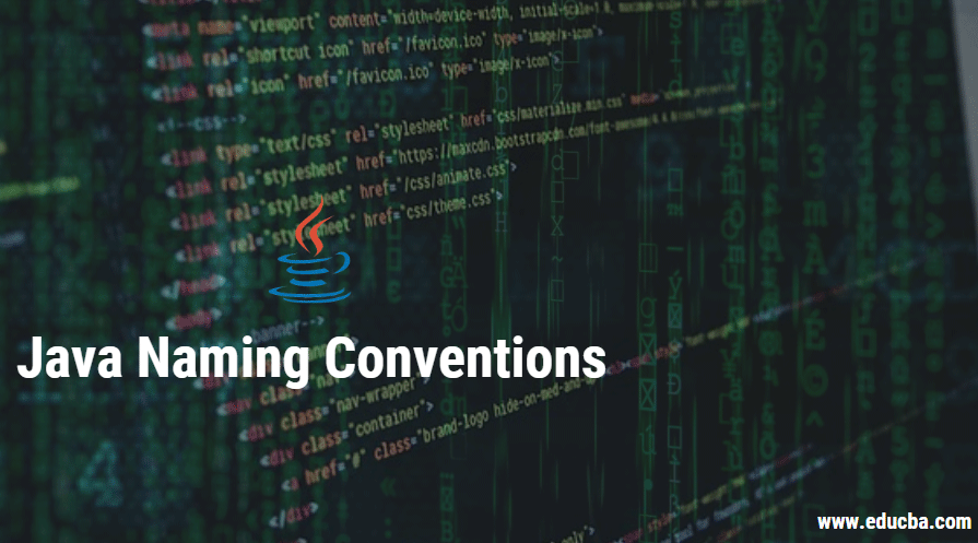 java naming conventuions
