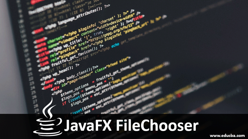 javafx filechooser
