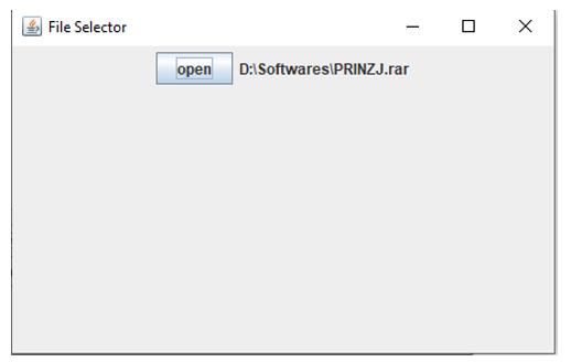 file selecter
