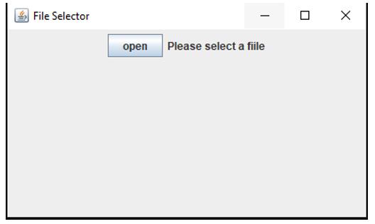 JFileChooser in Java