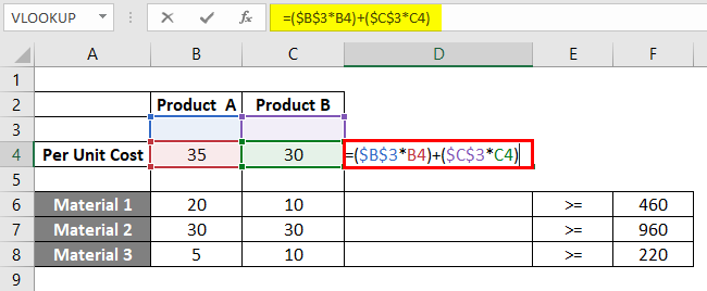 Linear Programming in Excel 2-3
