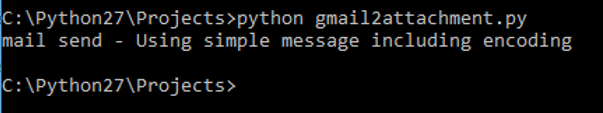 send mail in python