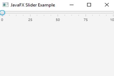 JavaFX Slider2