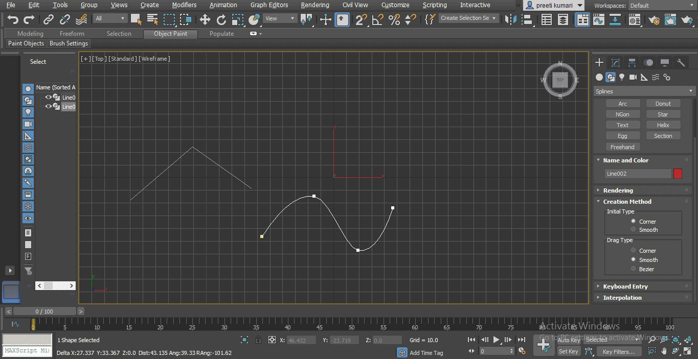 smoot type (Spline in 3ds Max)