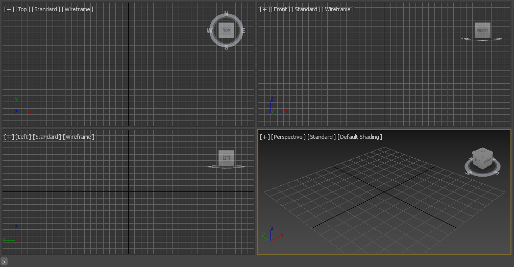 viewports (Spline in 3ds Max)