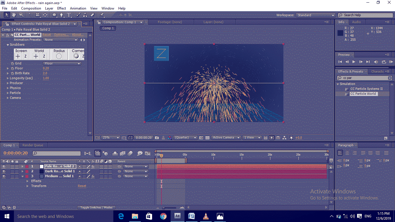 Add CC Particles