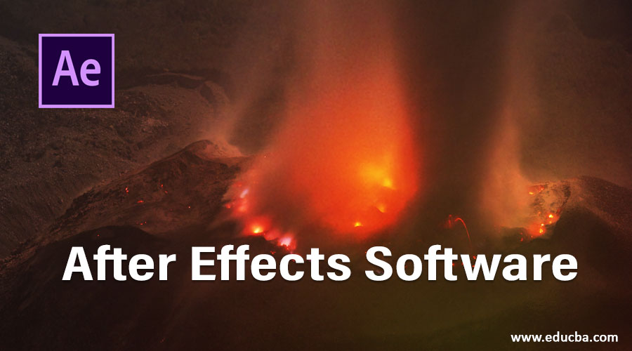 After Effects Software