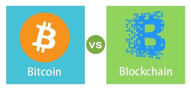Bitcoin-vs-Blockchain