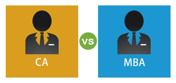 CA vs MBA