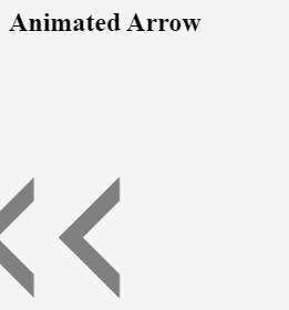 CSS Arrow 1-5