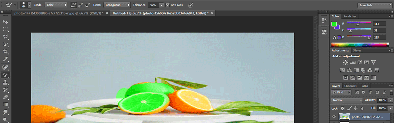 Color Replacement Tool Photoshop-17