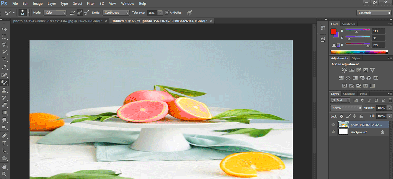 Color Replacement Tool Photoshop-21