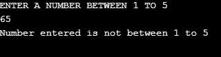 Control Statement in Java 1-8
