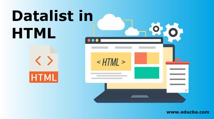 Datalist in HTML