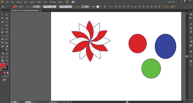Eyedropper Tool in Illustrator 1-12