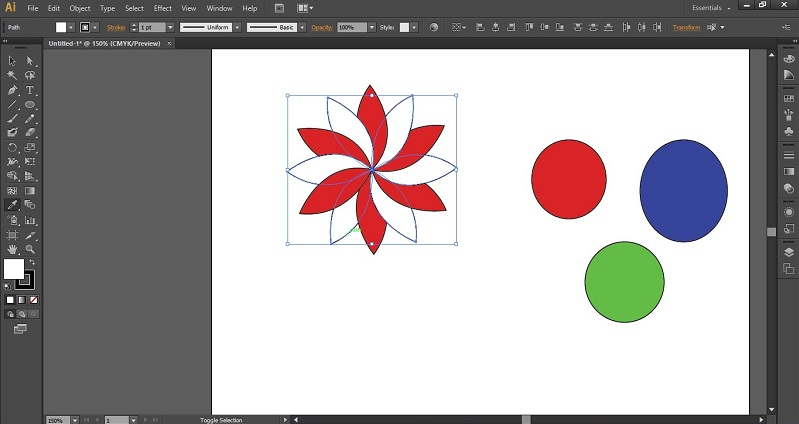 Eyedropper Tool in Illustrator 1-13