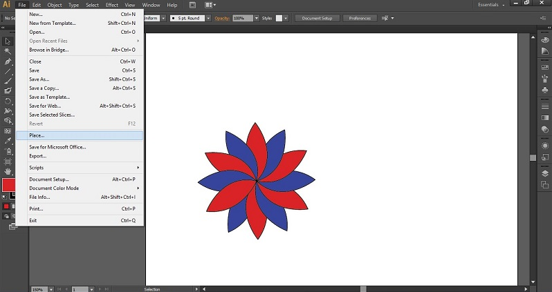 Eyedropper Tool in Illustrator 1-16