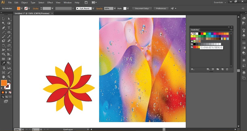 Eyedropper Tool in Illustrator 1-24