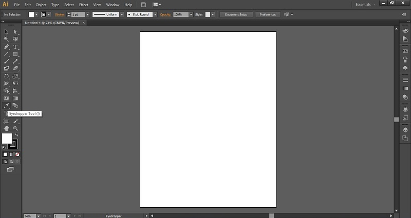 Eyedropper Tool in Illustrator 1-4