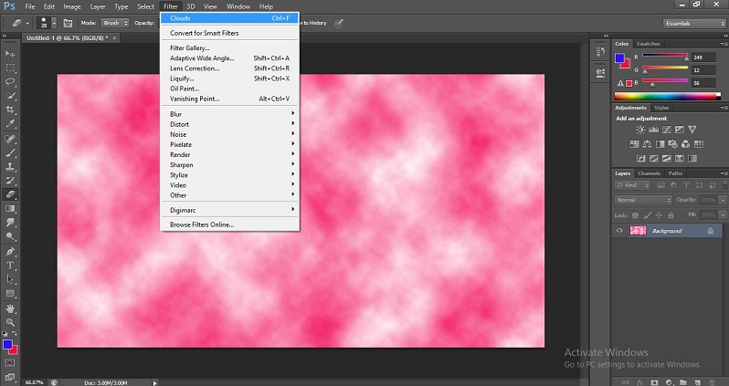 Filters in Photoshop 1-11